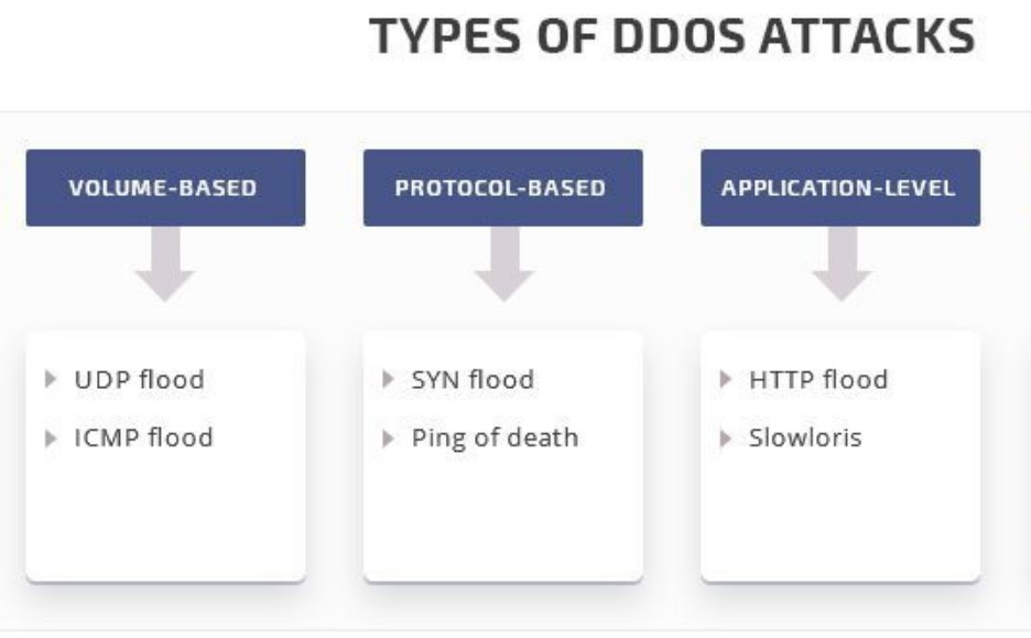 Different Types of DDoS Attacks